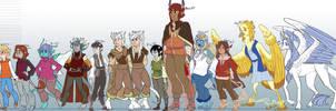 Color Blind Lineup by DruidTeeth