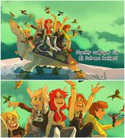 February Wallpaper by DruidTeeth