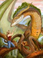 dhstein - Forest Dragon by dhstein