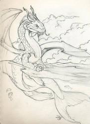 Koi dragon for Dawn by dhstein