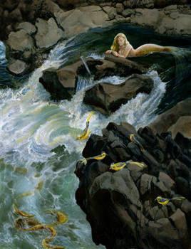 Mermaid Rocks by dhstein