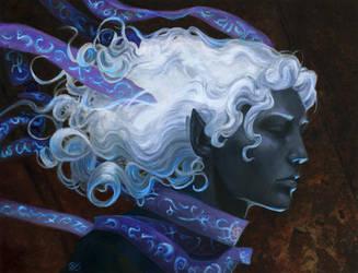 DianaStein - Scroll Drow by dhstein