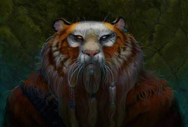 Dwarf Tiger by dhstein