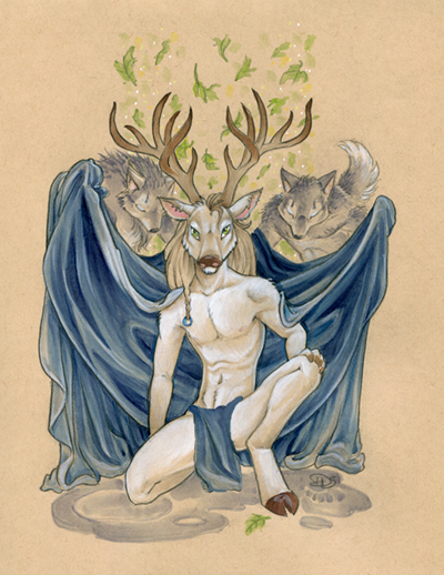 Lord of the Woods by dhstein