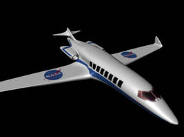 NASA plane by alarment13
