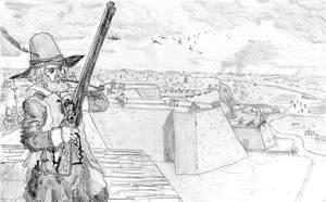 Under Siege, Breda, September 1624 by FritzVicari