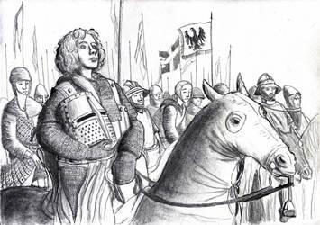 Conradin, the last Hohenstaufen, 1268 by FritzVicari
