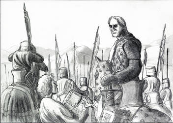 Charles d'Anjou, Tagliacozzo 1268 by FritzVicari
