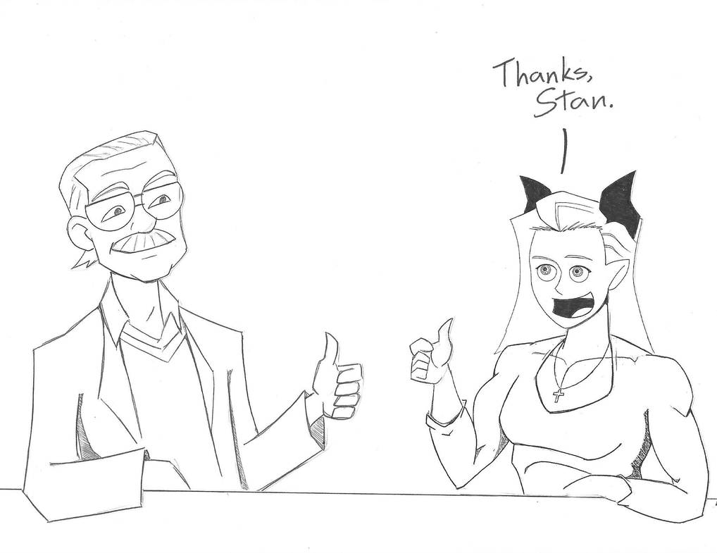 Thanks, Stan by Zeartist
