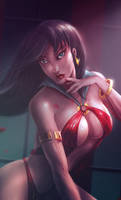 VAMPIRELLA by EDWARDJCHUA