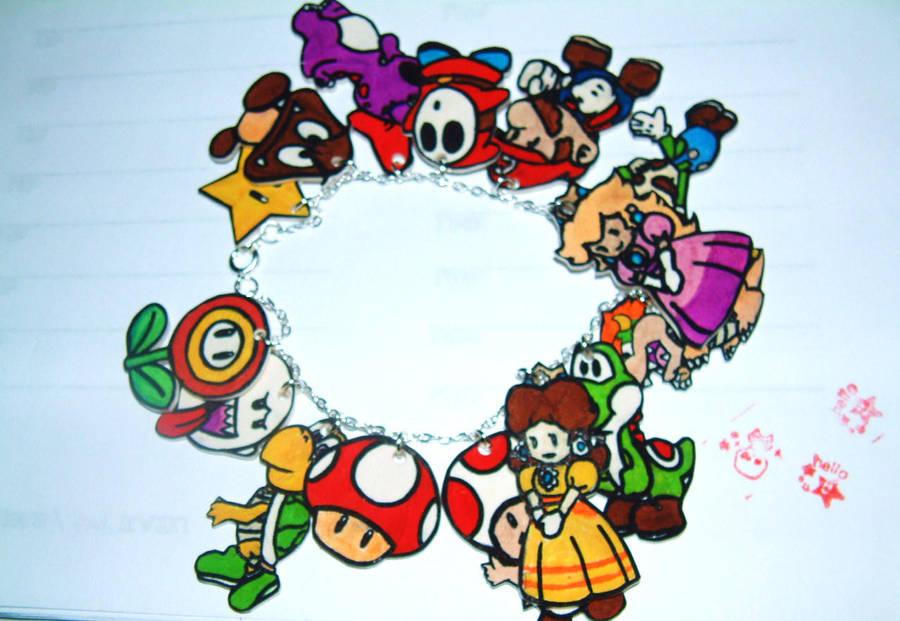 Super Mario Bracelet by LilysEmporium