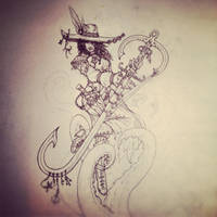 Pirate Lady (Unfinished) by silverlimit