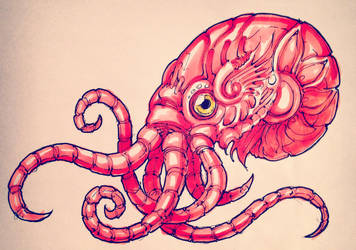 Cephalopuss I by silverlimit