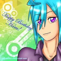 Haru Happy Birthday by xflorinax