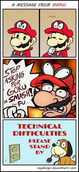 A message from Mario by RayDango