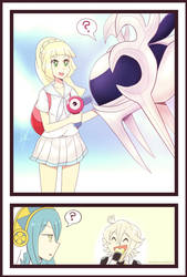 Lillie and Corrin by RayDango