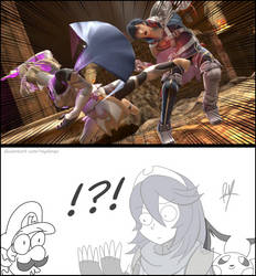 The Disappearance of Lucina by RayDango