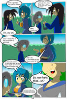 Angelica and the samurai School: Page 14 by Kyo-Saeba