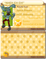 PKMNC - Speck by mightycucumber
