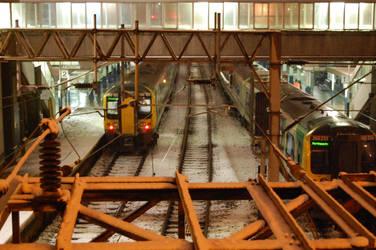 Stuck On The Tracks by simonsenlis