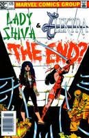Elektra and Lady  Shiva! by Gwhitmore