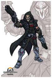 Reaper // Overwatch by nahuel-amaya