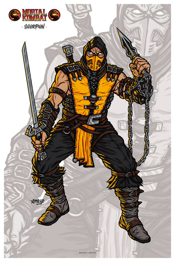 Scorpion // MKX by nahuel-amaya
