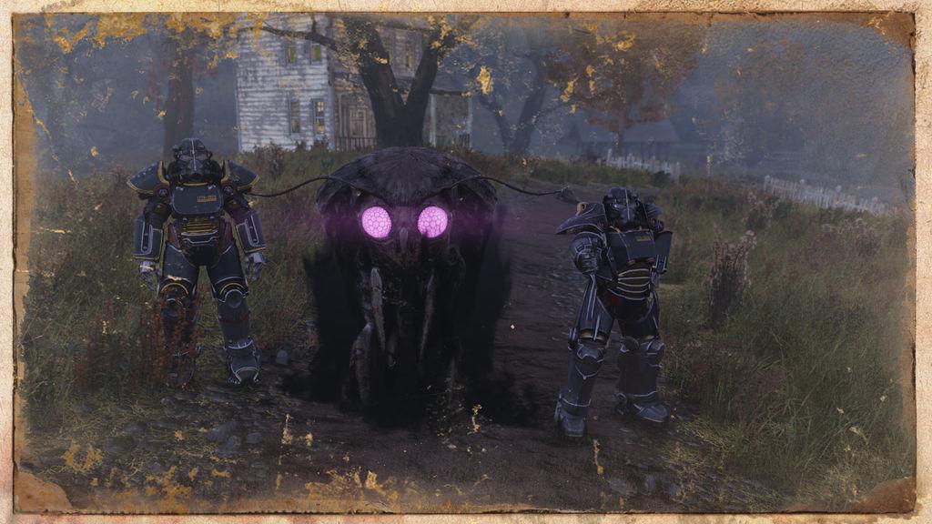 Fallout 76 Friendly Mothman by FatherGabriel
