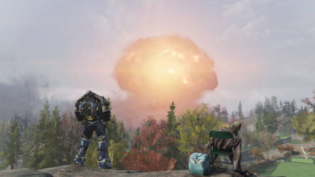 Watching a nuke with my friend(he didn't say much) by FatherGabriel