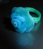 Ice rose by cherrybasket