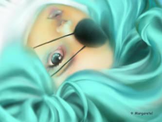 Blue hair by margaretel