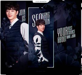Seo Kang Joon | Royal blue by JenniferLance