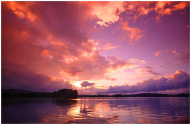 Finnish skies.. II by closer-to-heaven