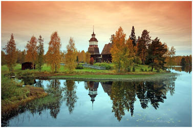 An old Finnish church.. by closer-to-heaven