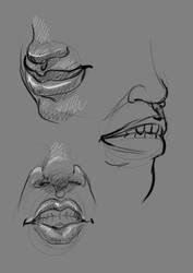 Lip Studies06 by RajStudioGraphics