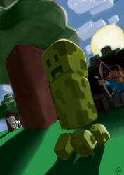 MineCraft03 by RajStudioGraphics