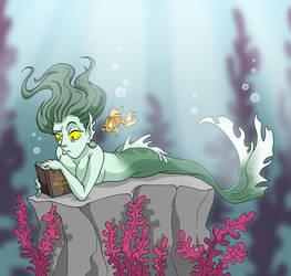Mermaid by Whimsical-Waffles