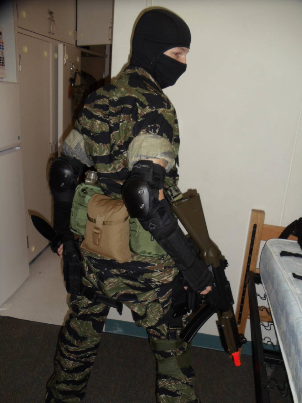 Metal Gear Solid Msf Soldier 2 By Streaked Silver On Deviantart