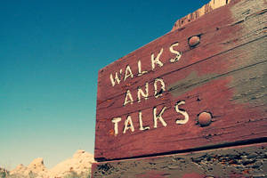 .walk and talk. by mondaysopaque