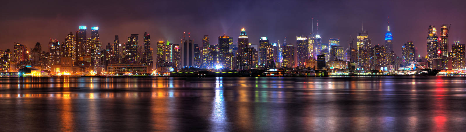 NYC Skyline from Jersey by sp1te