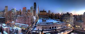 34th Street Looking East by sp1te