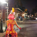 Biking Home NOLA, July 2015 by sp1te