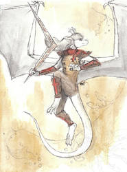 Dragoness Healer by Ageaus