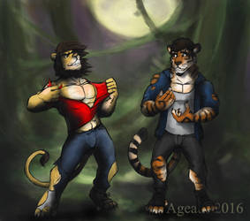 Werefelines! by Ageaus