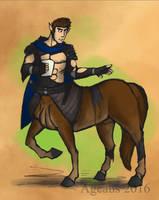 Patreonsketch: Centaured by Ageaus