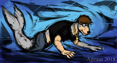 Patreonsketch: Sketchy Seal by Ageaus