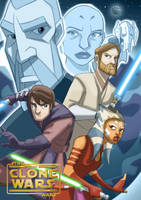The Clone Wars Poster by mrlavo