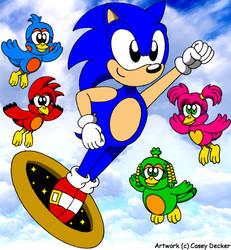 Sonic 3D Blast Tribute by CaseyDecker