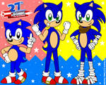 Sonic The Hedgehog: Generations Trio by CaseyDecker