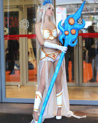 Janna cosplay from League of legends  by NineetNora